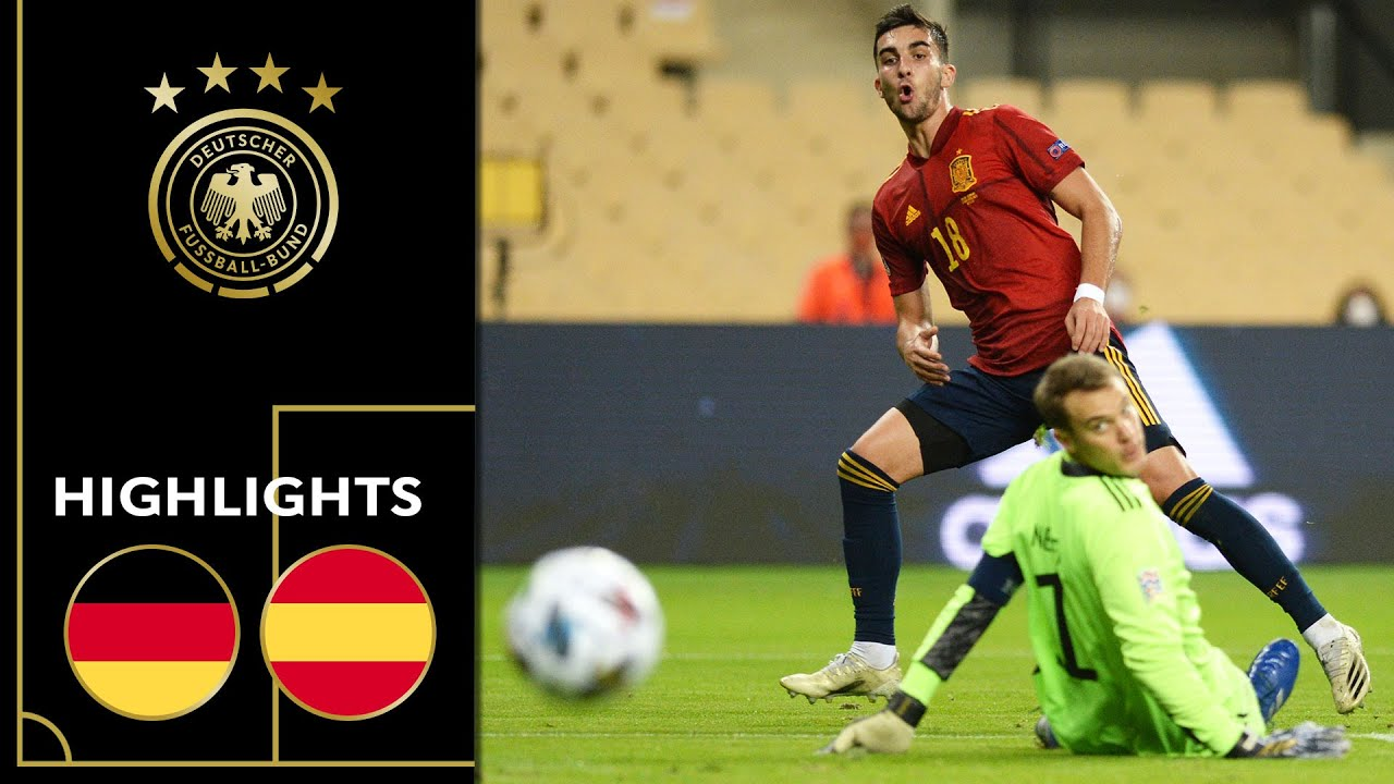 Ferran Torres & Spain too strong for Germany   Spain vs. Germany 6-0   Highlights   Nations League