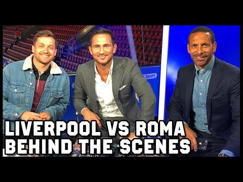 IS SALAH THE BEST IN THE WORLD? LIVERPOOL VS ROMA - BEHIND THE SCENES