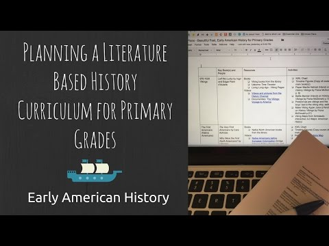 Creating My Own Curriculum for U.S. History | Plan With Me