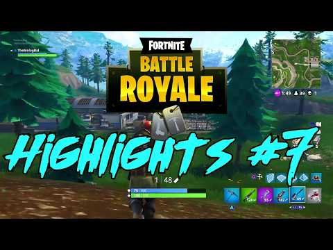 Fortnite | Highlights #7 (282m LONGEST SNIPE ON CONSOLE?)