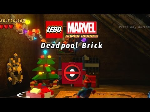 Lego Marvel-Unlock Deadpool Brick Fast Build