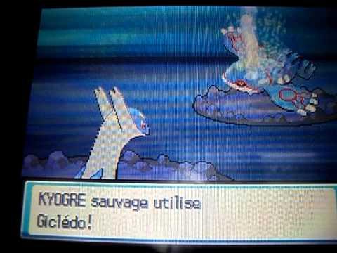 Capture Kyogre-pokemon heart gold soul silver