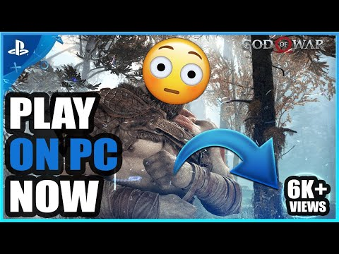 How To Download God of War 4 For PC|Gameplay Proof|PCSx4