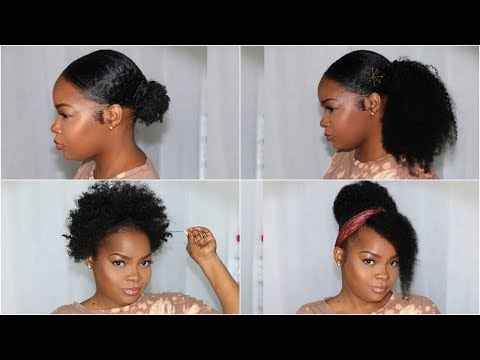 MOST NATURAL LOOKING KINKY CURLY CLIPINS EVER  4 STYLES  BETTERLENGTH