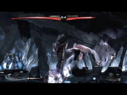 Injustice Gods Among Us - Superman (JOR-EL) vs Lex Luthor