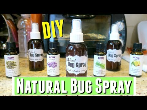 DIY Insect Repellent with Essential Oils, DIY All Natural Mosquito Repellent with Essential Oils