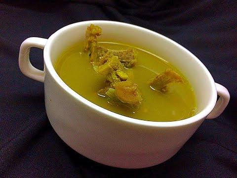 Kerala Style Healthy Mutton Soup / Mutton Clear Soup ആട് / മട്ടൺ സൂപ്പ്