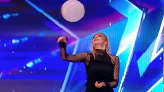 Magician Josephine Lee and Her Flying Ball Tricks   Audition 3   Britain's Got Talent 2017
