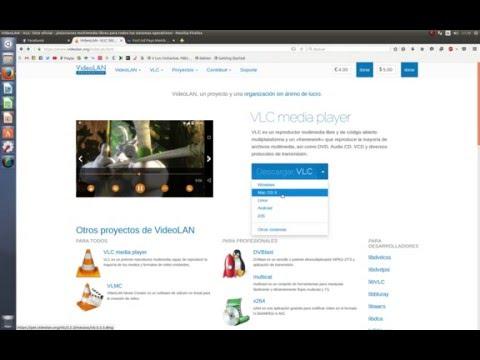 instalación VLC Ubuntu 16.04