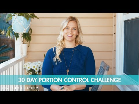 Join Our Portion Control Challenge!