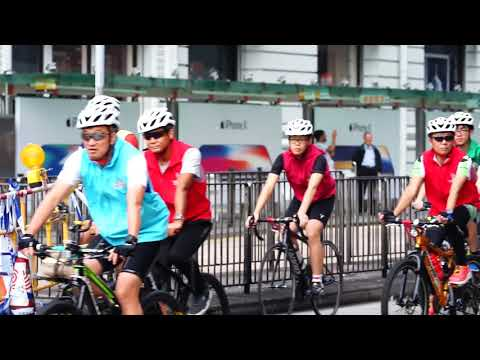 8 x 80 Cycling @ PolyU 80th Anniversary Open Day : The Ride