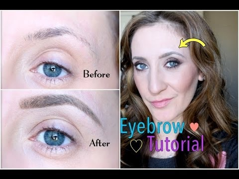 Eyebrow Tutorial   How I Fill in My Eyebrows feat. Anastasia Beverly Hills Dipbrow Pomade