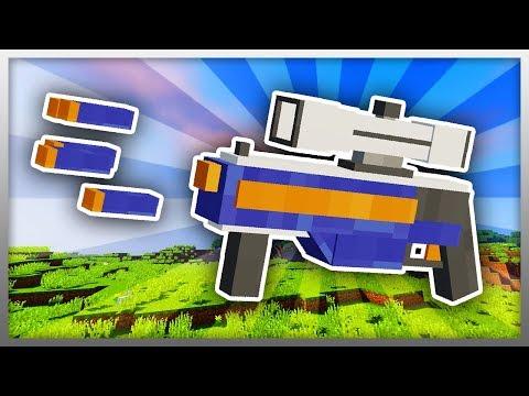 ✔️ Working NERF GUN in Minecraft! (BEST MINECRAFT MOD)