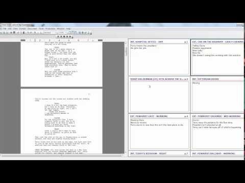 Final Draft Tutorial Part 2: Index Card Feature