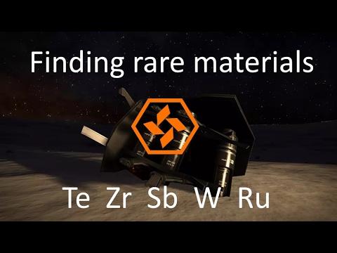 Elite Dangerous: Finding Rare Materials