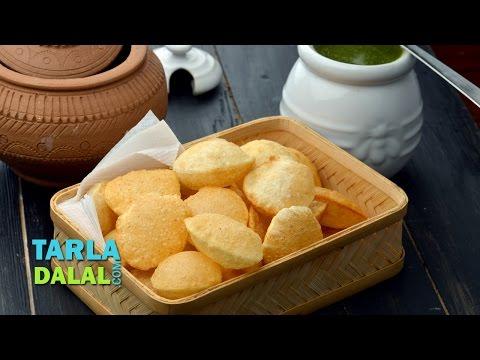 Puri For Pani Puri, Puri For Golgappa, Golgappa Puri by Tarla Dalal