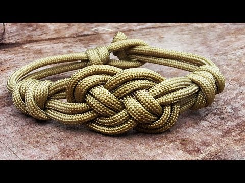 How You Can Make A Carrick Bend Bracelet With Parachute Cord