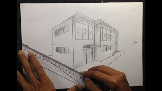 How To Draw A Building In 2 Point Perspective By Its Art Trap