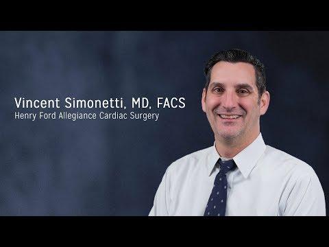 Vincent Simonetti, MD, FACS - Henry Ford Allegiance Cardiac Surgery