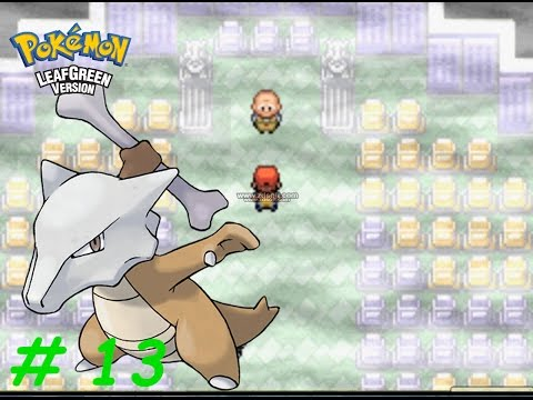 Let's Play Pokemon LeafGreen : Ghost Of Marowak