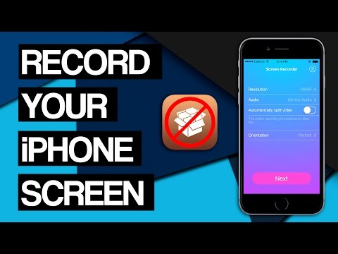 How to Record your iPhone Screen For FREE!! iOS 10.3/10.3.1 (NO JAILBREAK)