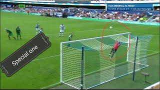 When Mourinho Becomes A Goal Keeper عندما يصبح السباشل وان حارس مرمى