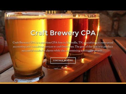 Craft Brewery CPA - Microbrewery CPA Evan Hutcheson