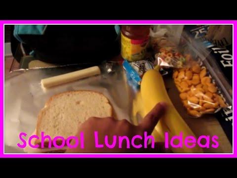 School Lunch Ideas #1