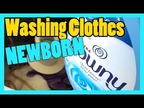 HOW TO PROPERLY CARE FOR YOUR NEWBORN CLOTHING
