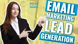 Lead Generation Tutorial for Email Marketing to Generate Leads