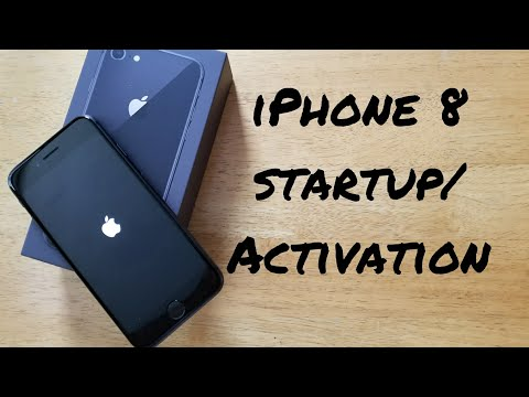 IPhone 8 startup activation