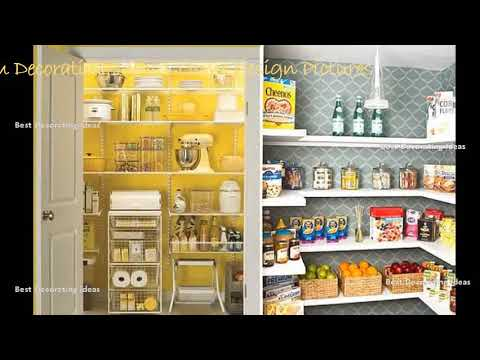 Kitchen pantry shelving design | Best Kitchen Ideas - Decor & Decorating Ideas for Kitchen