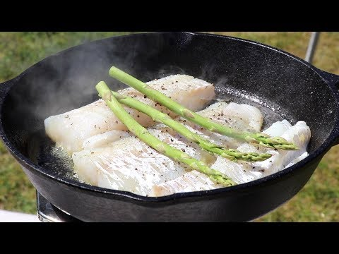 How to Cook Fish - fish tacos outdoors