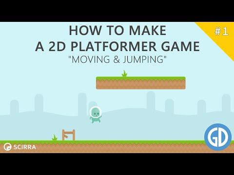1. How To Make A 2D Platformer Game (Moving & Jumping) Construct 2 Tutorial