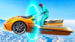 INSANE TRANSFORMING RACES! (GTA 5 Race)