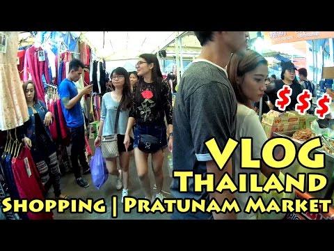 VLOG Thailand: Shopping | Pratunam Market | Bangkok