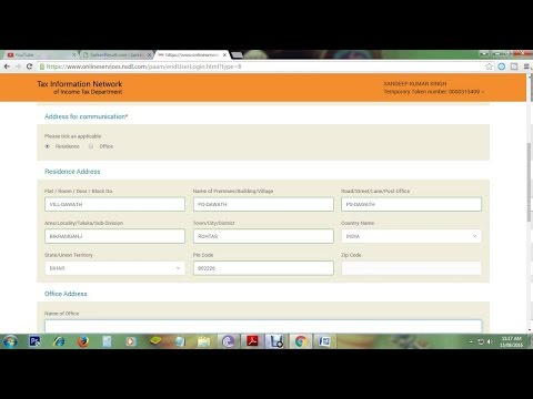 How To Apply For Online Pan Card Through NSDL Via Aadhar Card Based E-Sign IFull ProcedureI