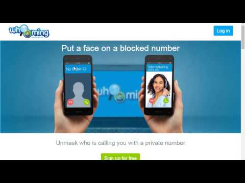 How to find out the number of anonymous calls with online service