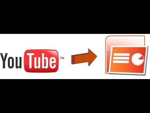 How to embed a YouTube video into powerpoint