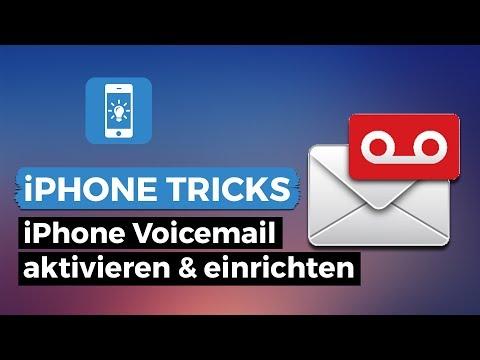 iPhone Voicemail/Mailbox aktivieren bei ALLEN Anbietern