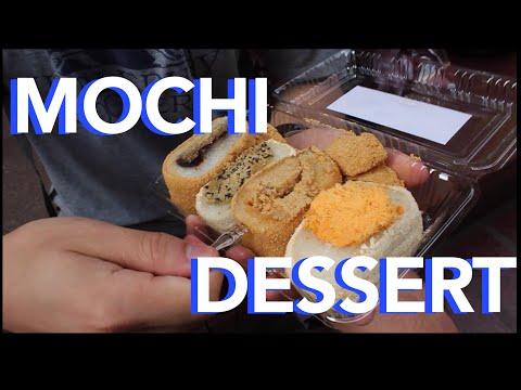 GIANT Mochi Balls for Dessert   Spoonhunt Food Show