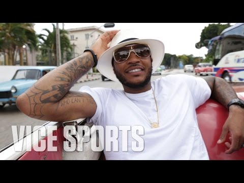 Stay Melo: Carmelo Anthony in the Streets of Cuba