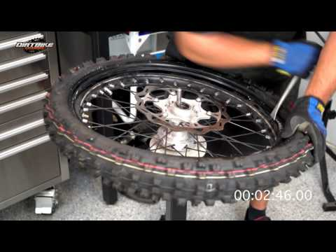 Full Speed Dirt Bike Tire Change - Episode 171