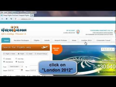 How To Book Tickets for Olympic of 2012