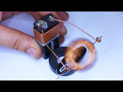 Amazing DIY Idea How To Make DC Motor