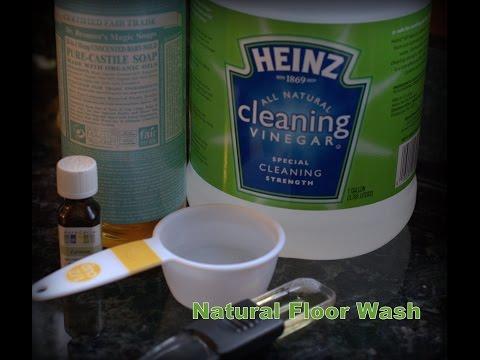 DIY -Homemade Floor Cleaner!