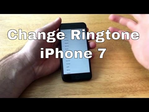 How to Change ringtone iPhone 7/7+