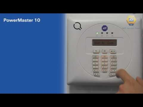 How to add a new code - PowerMaster 10 Panel - ADT UK