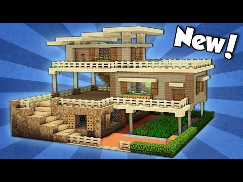 Minecraft: How to Build an Advanced Starter House - Tutorial