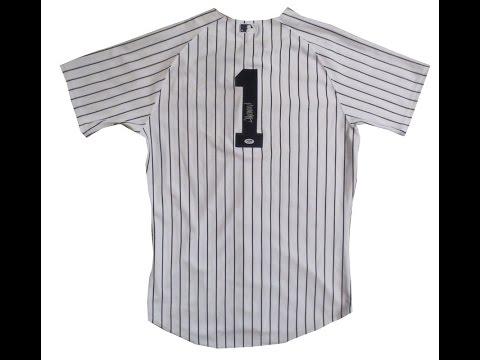 Donald Trump Autographed New York Yankees Signed Authentic Baseball Jersey PSA DNA COA